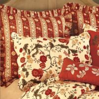 Red Carlisle European Pillow Sham
