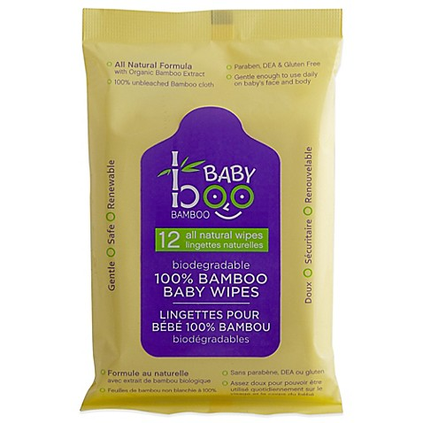 Baby Boo Bamboo 12 Count Baby Wipes Bed Bath Amp Beyond
