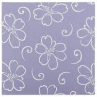 Glenna Jean Lulu Flower Print Canvas Wall Art in Lavender