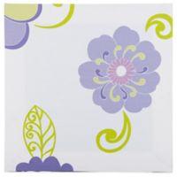 Glenna Jean Lulu Flower Print Canvas Wall Art in White