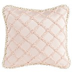 Glenna Jean Florence Pucker Throw Pillow in Pink