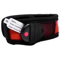 BuddyTag™ Child Safety Wristband with Velcro® in Red