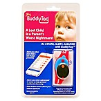 BuddyTag™ Child Safety Silicone Wristband in Pink/Aqua