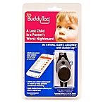 BuddyTag™ Child Safety Silicone Wristband in Black/Grey