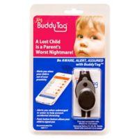 BuddyTag™ Child Safety Silicone Wristband in Black/Grey