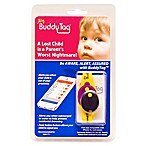 BuddyTag™ Child Safety Silicone Wristband in Yellow/Purple