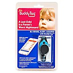 BuddyTag™ Child Safety Silicone Wristband in Aqua