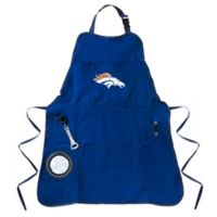 NFL Denver Broncos Heavy-Duty Men's Apron