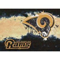 NFL Los Angeles Rams Fade Area Rug