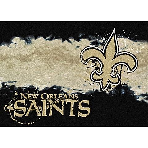 Nfl New Orleans Saints Fade Area Rug Bed Bath Beyond
