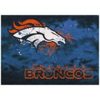 NFL Denver Broncos Fade Area Rug