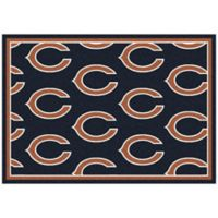 NFL Chicago Bears Repeating Small Area Rug