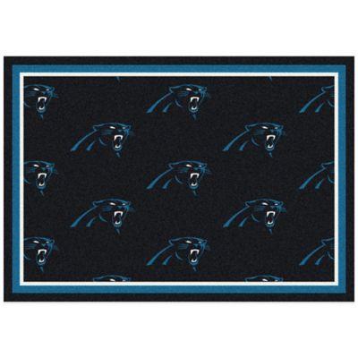 NFL Carolina Panthers Repeating Medium Area Rug