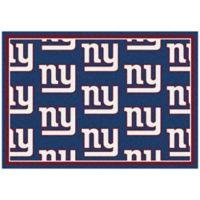 NFL New York Giants Repeating Medium Area Rug