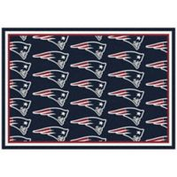 NFL New England Patriots Repeating Small Area Rug