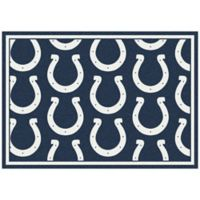 NFL Indianapolis Colts Repeating Large Area Rug