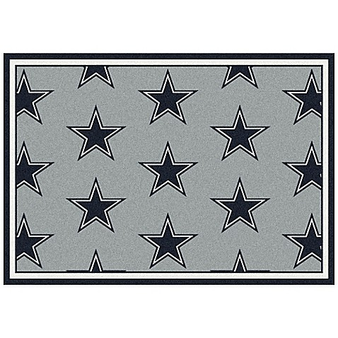 Nfl Dallas Cowboys Repeating Area Rug Bed Bath Amp Beyond