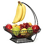 Gourmet Basics by Mikasa® French Countryside Fruit Basket with Banana Hook