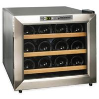 Wine Enthusiast Silent 12-Bottle Wine Refrigerator in Silver