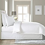 Wamsutta® Baratta Stitch Cotton 15-Inch Drop King Bed Skirt in White