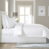 Wamsutta Baratta Sch Cotton 18 Inch Drop California King Bed Skirt In White