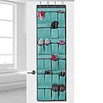 Studio 3B™ 24-Pocket Over-the-Door Shoe Organizer in Aqua