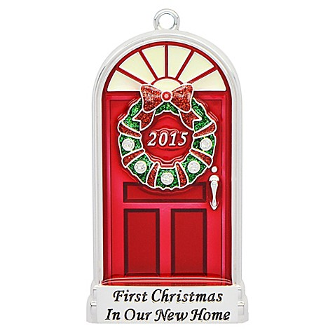 Harvey Lewis First Christmas in New Home 2015 Christmas Ornament