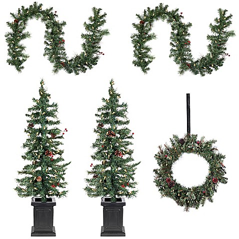 6 Piece Holiday D Cor Set