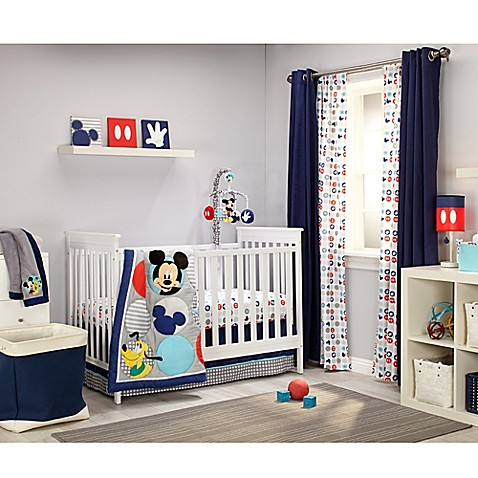 Disney 174 Mickey S Best Buddies Crib Bedding Collection