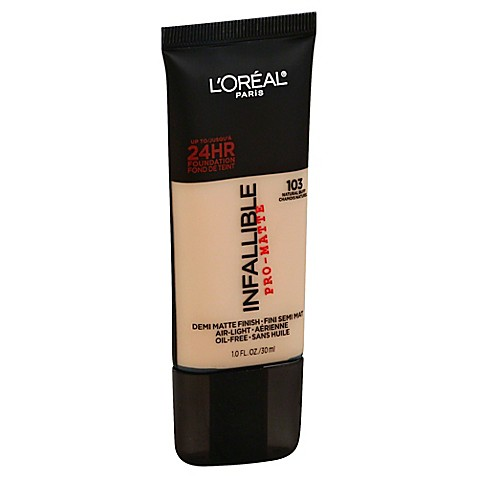 Bed Bath And Beyond Loreal Pro Matte Infallible