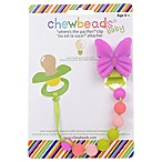 "chewbeads® Butterfly ""Where's the Pacifier?"" Clip"