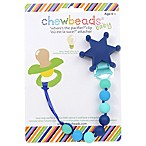 chewbeads® Sheriff  Where's the Pacifier?  Clip