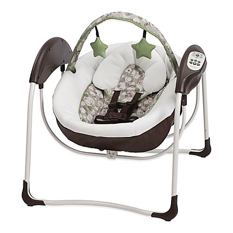 Graco 174 Glider Lite Lx Gliding Swing In Zuba Bed Bath