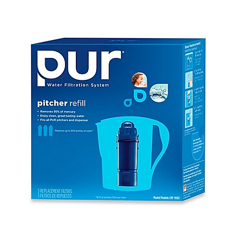 pur water filtration system two stage filter set of 3 bed bath beyond. Black Bedroom Furniture Sets. Home Design Ideas