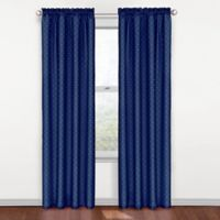 SolarShield® Polly Rod Pocket 84-Inch Room Darkening Window Curtain Panel in Blue