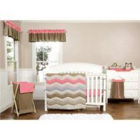 Trend Lab® Cocoa Coral 3-Piece Crib Bedding Set