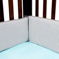 Trend Lab® Cocoa Mint 4-Piece Crib Bumper Set