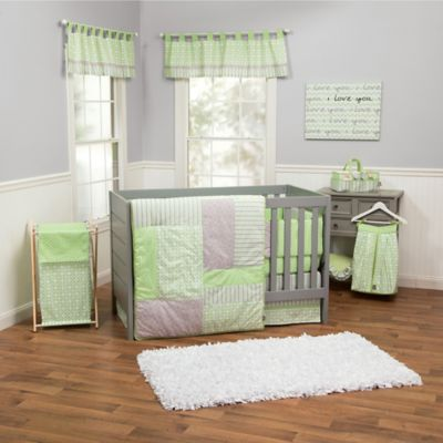 Trend LabR Lauren Bedding Collection 3 Piece Crib