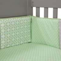 Trend Lab® Lauren 4-Piece Crib Bumper Set