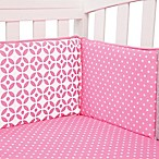 Trend Lab® Lily 4-Piece Crib Bumper Set
