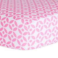 Trend Lab® Lily Lattice Fitted Crib Sheet