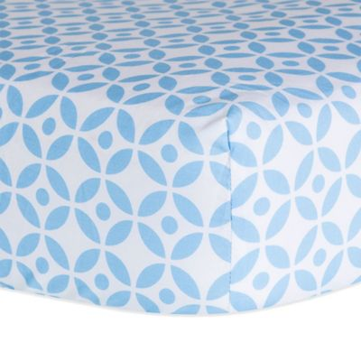 Trend Lab® Logan Lattice Fitted Sheet