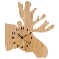 Trend Lab® Northwoods Moose Wall Clock
