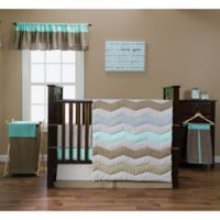 Trend Lab® Cocoa Mint 3-Piece Crib Bedding Set