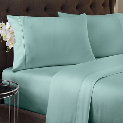 Crowning Touch 500 Thread Count Wrinkle Free And Fade No More Technology  Twin Sheet Set
