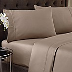 Crowning Touch 500-Thread Count Wrinkle Free and Fade No More Technology Queen Sheet Set in Linen