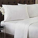 Crowning Touch 500-Thread Count Wrinkle Free and Fade No More Technology King Sheet Set in White