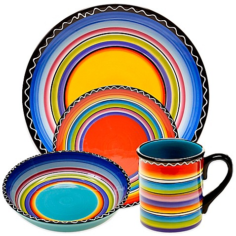 Certified International Tequila Sunrise Dinnerware