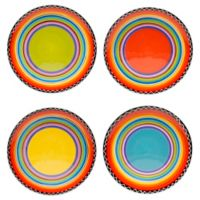 Certified International Tequila Sunrise Salad Plates (Set of 4)