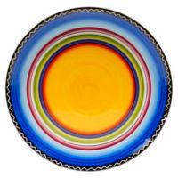 Certified International Tequila Sunrise Round Platter